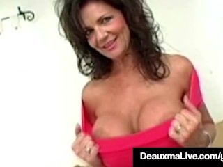 Destructive mammy Deauxma Opens their way Anus be worthwhile for their way BoyToy & Squirts!
