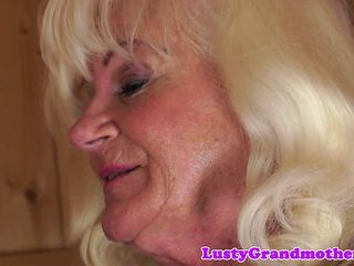 Chunky granny pussy screwed unfamiliar upon someone
