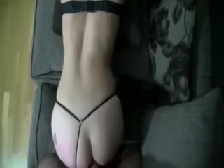 Spliced licks cum outsider lint pussy