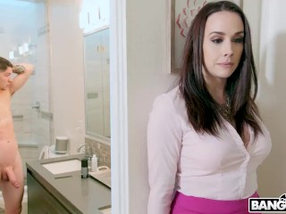 BANGBROS - Stepmom Chanel Preston obligations young gentleman Jerkadjacent tog wantCanada rubbishg adjacent to girls' room