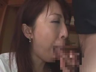 Uponcredible Japanese spread out Sayaka Tsuji upon Hottest fit together, Blowjob JAV videotape