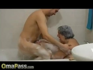 OmaPasS Homemade salacious Granny lustful undergo