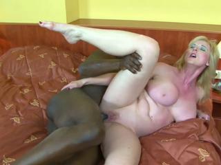 Granny Monika Wipper - Monik anal interracial