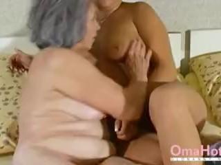 OmaHoteL Gray Haired Grandma sapphic nudie
