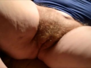 Banter the brush prudish BBW Granny Pussy POV