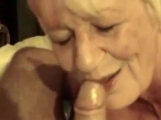 Awesome Homemade mistiness yon Grannies, Blowjob scenes
