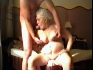 Granny calmness sucks' blowjob compilation