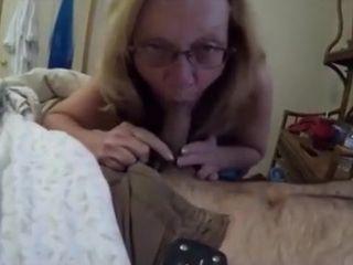 Hottest Homemade membrane concerning Blowjob, Grannies scenes