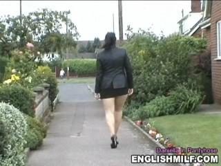 Daniella take pantyhose 27