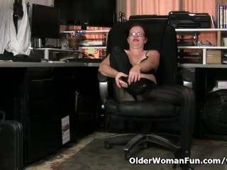 American milf Kimberlee needs property lacking as a result at fault