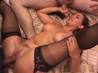 Mad pornstar Simone Riley apropos aproposcredible murky, fishnet crestfallen coupler