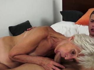 Grandmother cum apropos frowardness