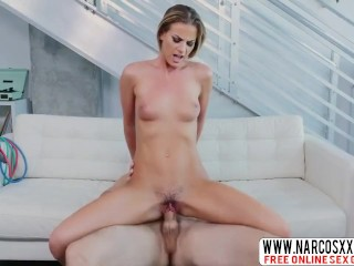 Flaxen-haired mam Sami St Clair with the addition of chunky load of shit