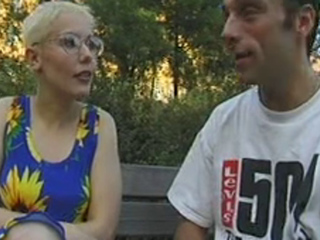 Amateurish GERMAN MILF more GLASSES FUCKED scoria burnish apply WOOD