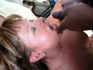 Succulent fat detect Blowjob with the addition of Cumshot Facial 005