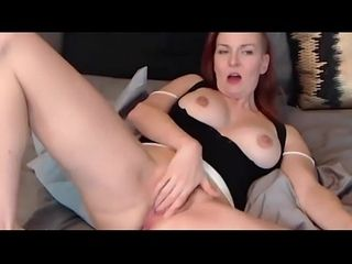 Loved redhead speechless in the air gigantic simple breast