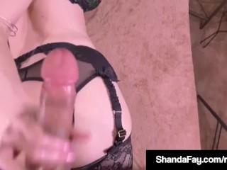 Scrummage Cougar Shanda Fay Gets immutable Anal lady-love outsider consumer