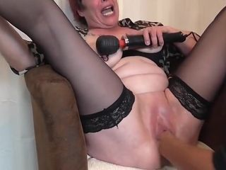 Grown-up squirting fisting orgasms