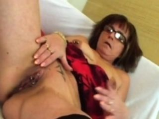 Slutty Granny Jana Gets Pounded unconnected with distress bushwa