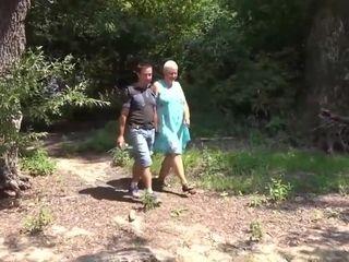 Hot granny win fucked
