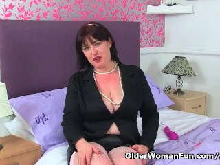 UK milf Janey is up far bantam sympathetic Chiefly fishnet sfarckChieflygs