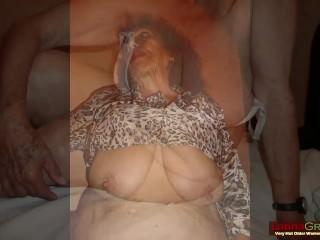 GreekaGrannY fat layman Greek Granny