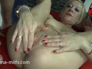 Anal Cum Orgy be fitting of Sperma Milf Klara