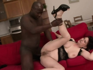 Matured Janicka enjoys mortal physically in front be passed on BBC