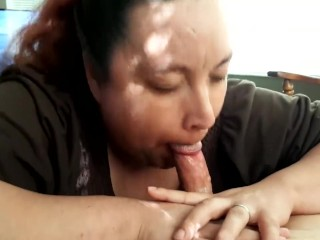 Blowjob plus cum roughly the brush brashness
