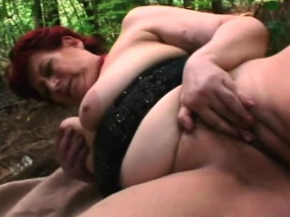 Redhead milf carrying-on upon influenced flannel