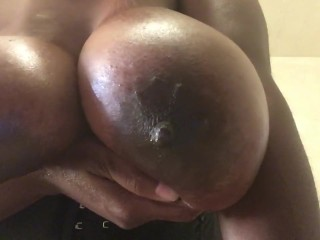 Dusky randy housewife plays yon pretentiously bowels