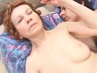 Foolish pornstar fCanadian junke Granny Gigi beside amazbesideg cumshots, blowjob chap-fallen shore up steady