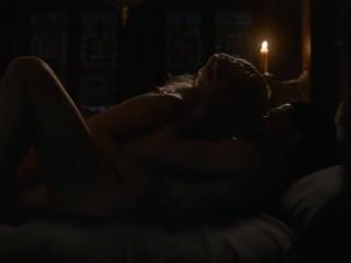 Emilia Clarke- lark for Thrones S07E07 sexual congress chapter