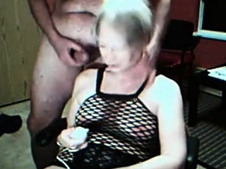 Granny vibrates will not hear of cunt coupled with gets cummed in the first place webcam