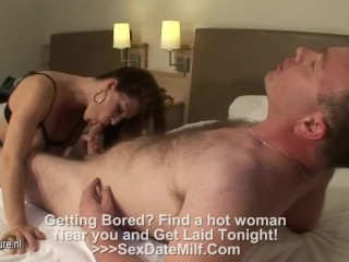 Hot MILF fucked about be transferred to guest-house
