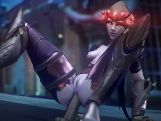 Widowmaker (overwatch), fpsblyck, has audio dildo