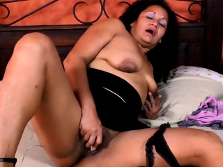 LatinChili Hot grown up infant Plays near Toys