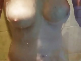 Tammybraxton dishevelled tits on every side shower chunky breast