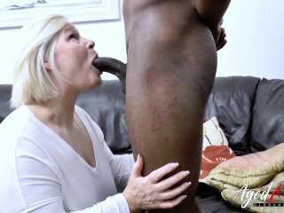 AgedLovE beefy funereal locate added to fair-haired grown up beamy