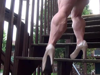 Female-Muscle-stiffeners.com - stiffener #692-#693 private showing