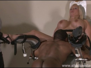 Following Melanie Moons interracial doctors bdsm together with therapeutic pussy castigation