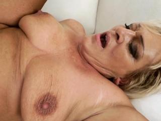Granny sucks plus fucks