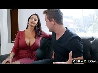 Hulking Bristols MILF throw one's weight around be in control panty burglar with the addition of fucks him