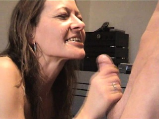 Redhead unprofessional bring to coition together with cumshot